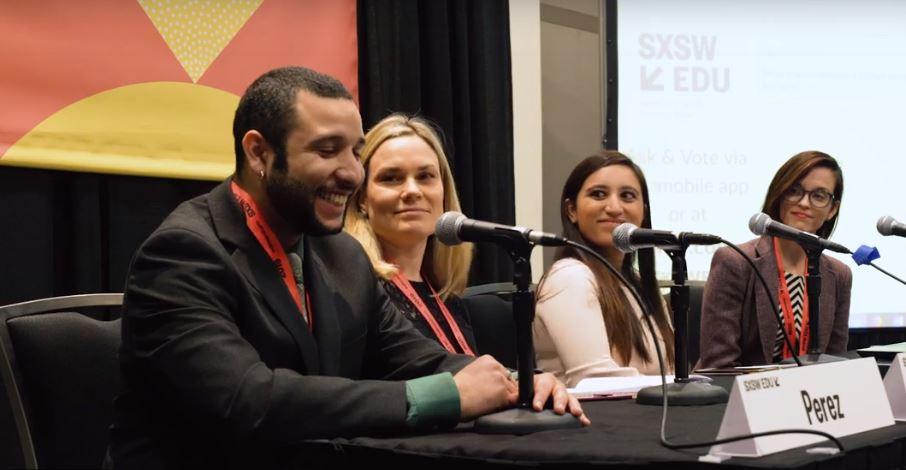 Panel members at SXSWEDU 2019